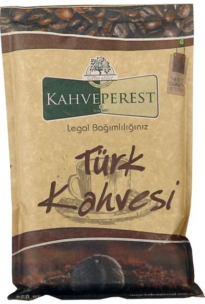 Kahveperest Türk Kahvesi Kraft Ambalaj 250 gr