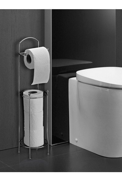 Orsa Home Tuvalet Kağıtlığı Krom