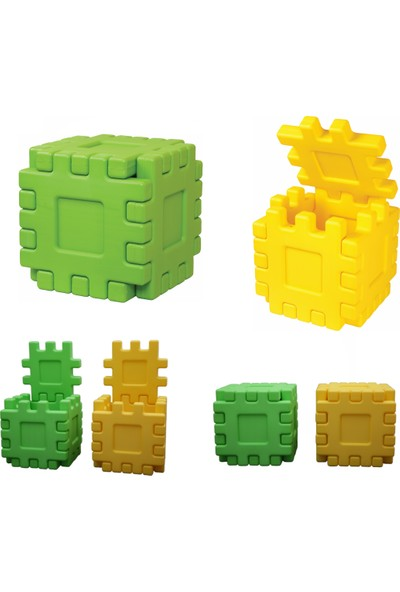 King Kids Sihirli Kutular Sarı yeşil