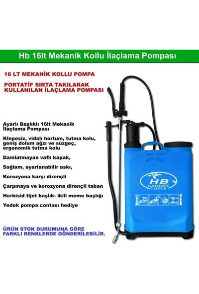 HB Mekanik Kollu Sırta Asılan Dezenfekte Pompası 16 lt