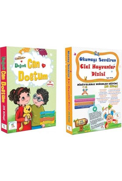 1. Sınıf Hikaye Kitabı Seti 30 Kitap Can Dostum + Cici Hayvanlar