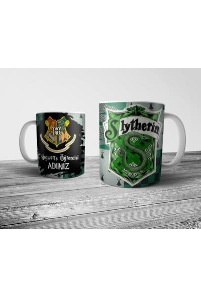 Pixxa Harry Potter Slytherin Kişiye Özel İsimli Kupa Bardak