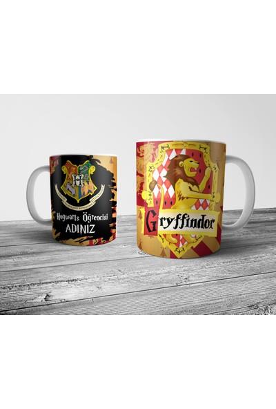 Pixxa Harry Potter Gryffindor Kişiye Özel İsimli Kupa Bardak