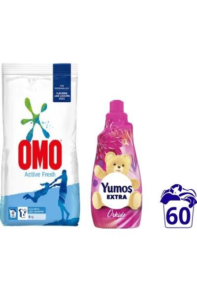 Omo Active Fresh 6 kg + Yumoş Extra 60 Yıkama Ikili Set