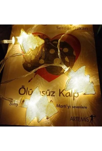 Buffer Metal Örgülü Çam Ağacı Şeklinde Şerit LED Işık Zinciri Günışığı