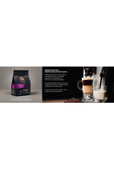 Anisah Bolivar Öğütülmüş Filtre Kahve 500 gr