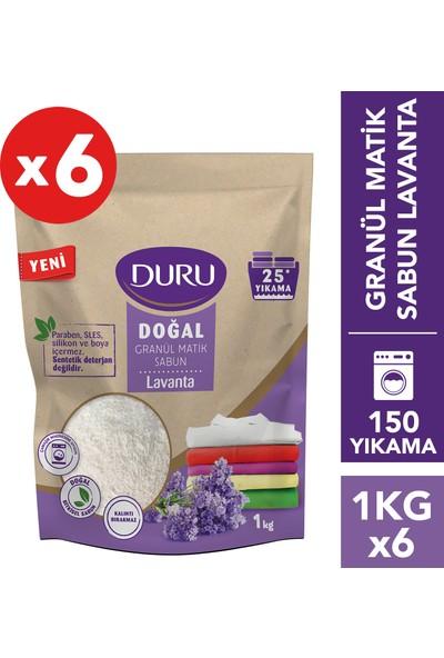Duru Granül Matik Sabun Lavanta 6 kg 150 Yıkama