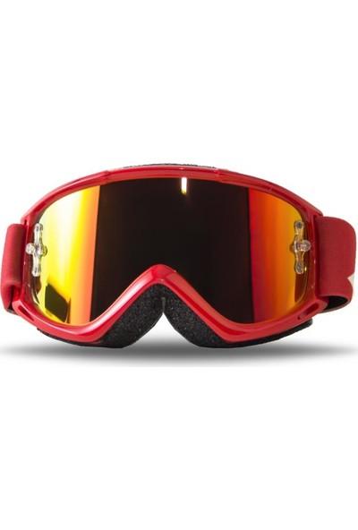 Smith Fuel V.1 Max M Kayak ve Motor Gözlüğü Kırmızı (W185475)