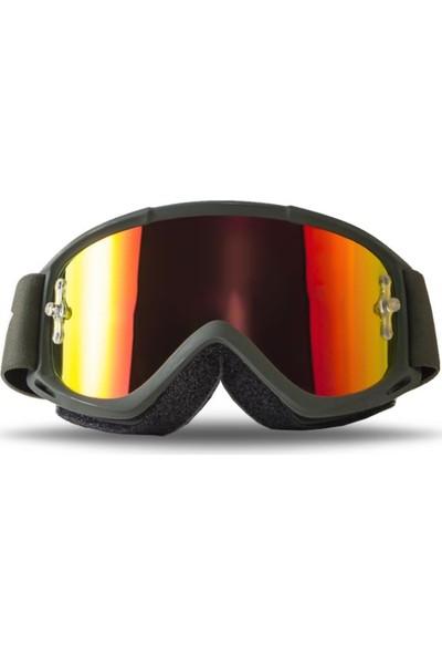 Smith Fuel V.1 Max M Kayak ve Motor Gözlüğü Yeşil (W185523)