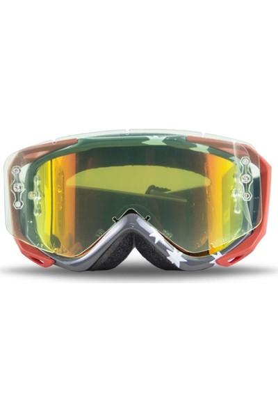 Smith Fuel V.2 Sweat - Xm Kayak ve Motor Gözlüğü Gri (J29651