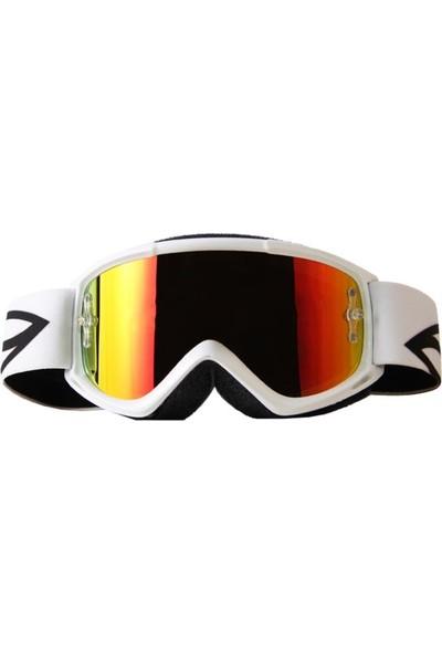 Smith Fuel V.1 Max M Kayak ve Motor Gözlüğü Beyaz (W185522)