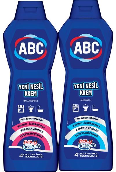 Abc Yeni Nesil Krem 750 ml + 750 ml (Amonyak+Bahar)