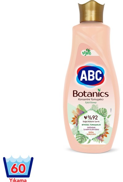 Abc Botanics Konsantre Yumuşatıcı Eylül Güneşi 1440 ML