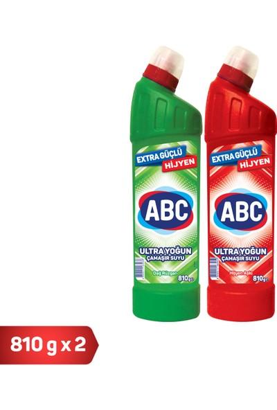 Abc Ultra Çamaşır Suyu 1+1 (Dağ+Hijyen)