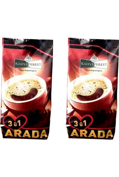 Kahveperest Hazır Kahve 3'ü 1 Arada 2'li Paket 500 gr