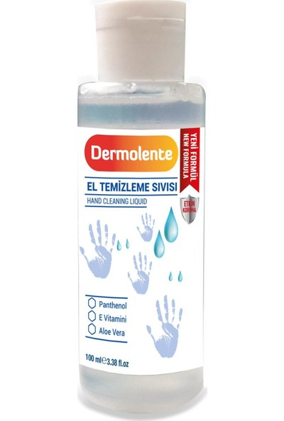 Dermolente El Temizleme Sıvısı 100 ml