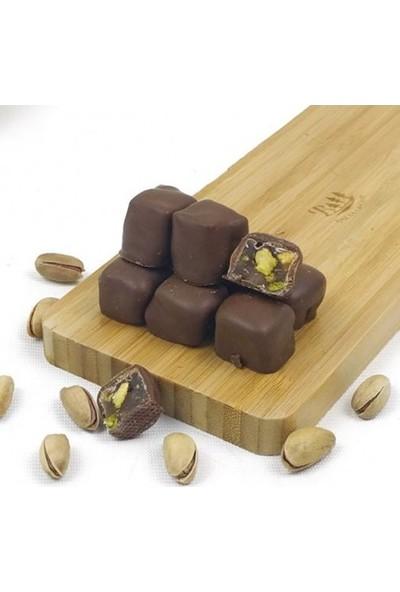 Dilşeker Çikolata Kaplı Antep Fıstıklı Lokum 1000 gr