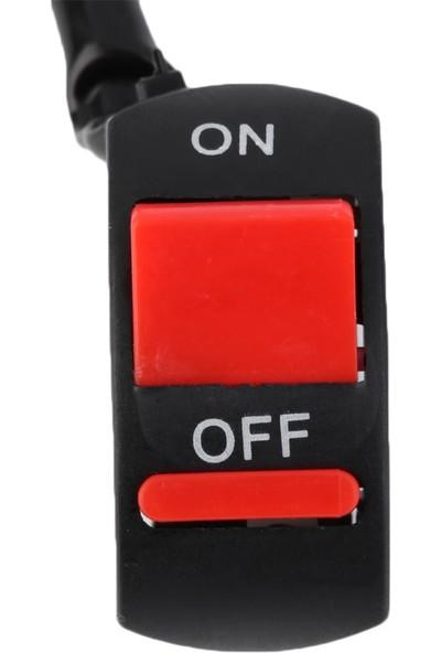 Cable On Off Swich Açma Kapama Düğmesi Sis Farı Kontak İçin 2 Kablolu