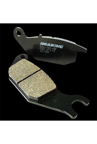 Braking Honda Silver Wıng 600 Brakıng Arka Fren Balatası 2001 - 2007