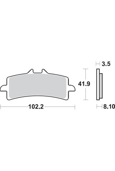 Braking Kawasakı Zx-10R 1000 Brakıng Ön Fren Balatası 2016 - 2017