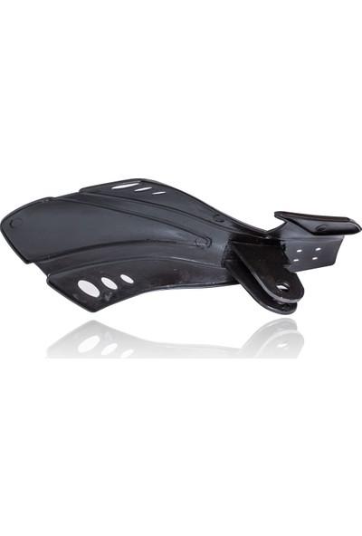 STA Motosiklet Elcik Koruma Handguard Tüm Modeller İle Uyumludur Siyah