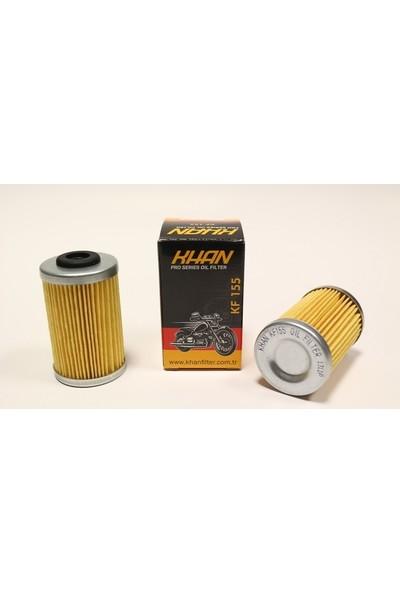 Khan Ktm Duke 200 Yağ Filtresi Khan Filter Kf 155