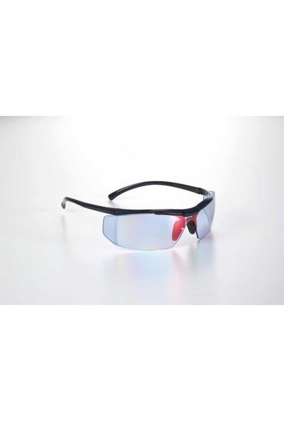 Univet 5x5.23.20.07 Parlak Mavi Lens Akıllı Ayna Koruyucu Gözlük