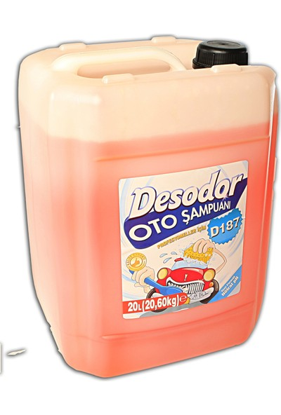 Desodor D187 Oto Şampuanı 20 lt
