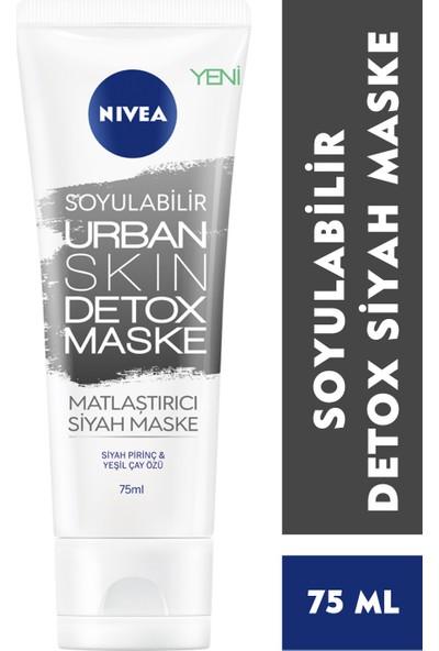 Nivea Urban Skin Detox Soyulabilir Siyah Maske 75 ml