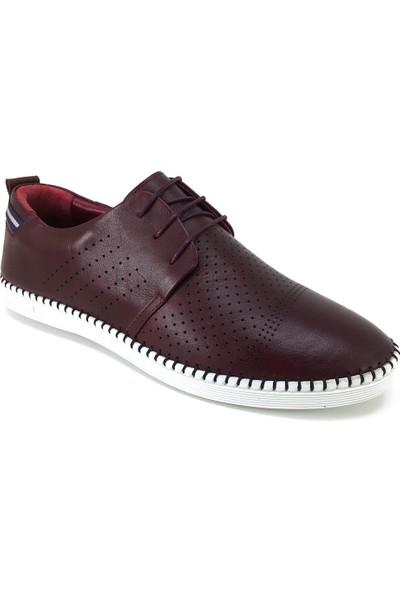 61222 Greyder Günlük Erkek Ayakkabı Bordo