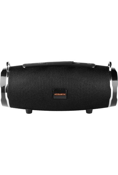 MF Product Acoustic 0214 Kablosuz Bluetooth Speaker Siyah