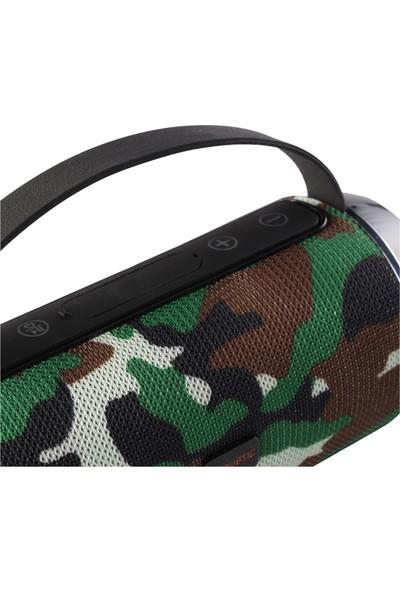 MF Product Acoustic 0218 Kablosuz Bluetooth Speaker Yeşil