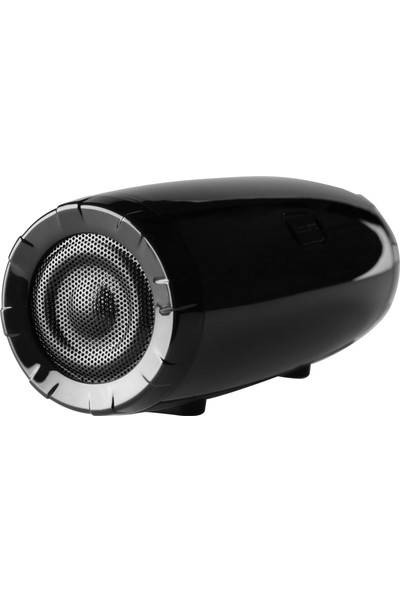 MF Product Acoustic 0219 Işıklı Kablosuz Bluetooth Speaker Siyah