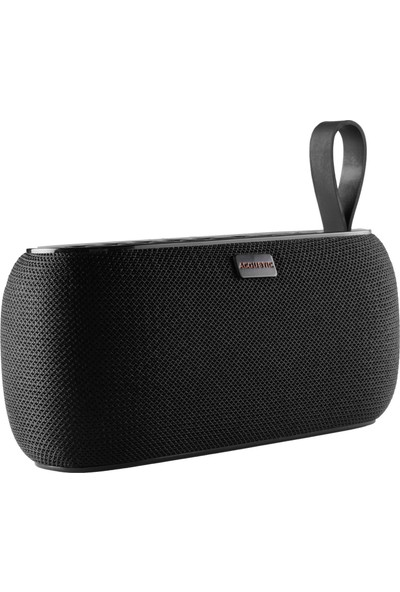 MF Product Acoustic 0223 Saatli Alarmlı Kablosuz Bluetooth Speaker Siyah
