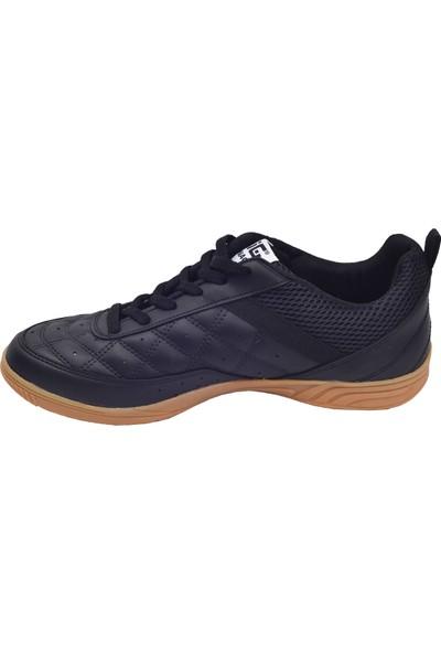 Lig Monaco Indoor 01 Hentbol Voleybol Futsal Erkek Spor Ayakkabı Siyah