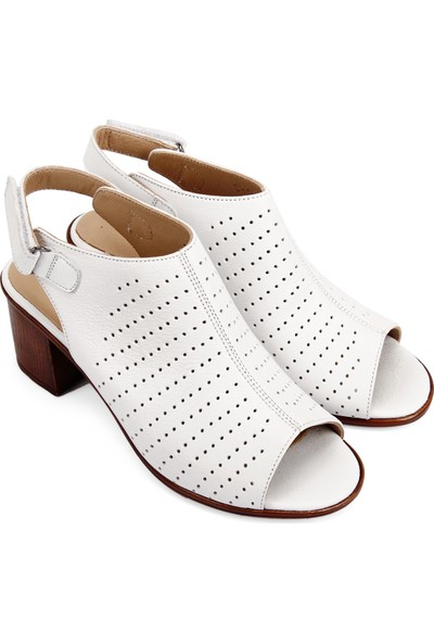 Gön Deri Kadın Sandalet 45627