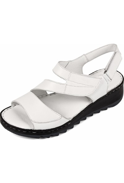 Gön Deri Kadın Sandalet 45508