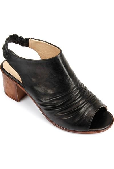 Gön Deri Kadın Sandalet 45619