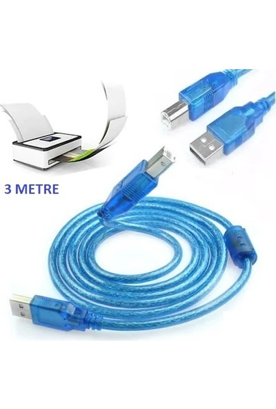 Compaxe USB Yazıcı Printer Kablosu 5m