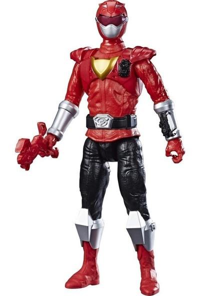 Hasbro Power Ranger Beast Morphers Dev Figür Beast Red Ranger (E7802)