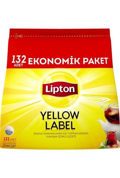 Lipton Yellow Label Demlik Poşet Çay 132'li