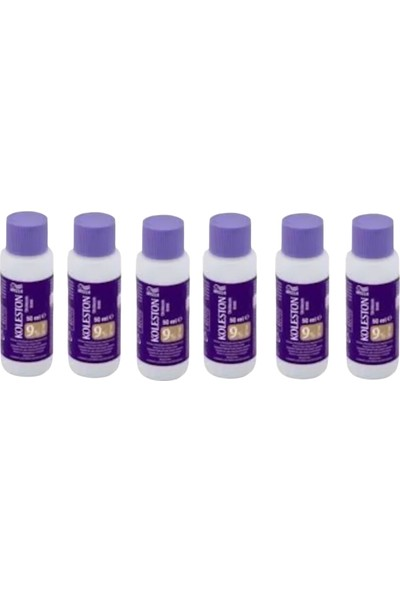 Wella Koleston Oksidasyon Boya Sıvısı %9 - 30 Volume 6 Adet 50 ml
