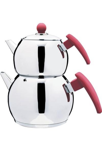 Elegant Tombik Küre Çaydanlık Takımı