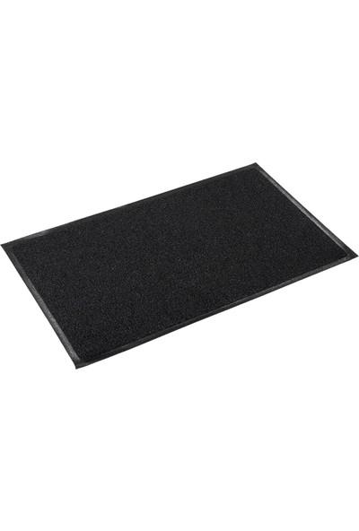Sermat Kapı Önü Kıvırcık Paspas 50 x 80 cm siyah