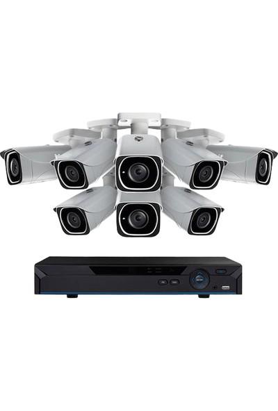Natro Kamera Sistemi 8 Li Set