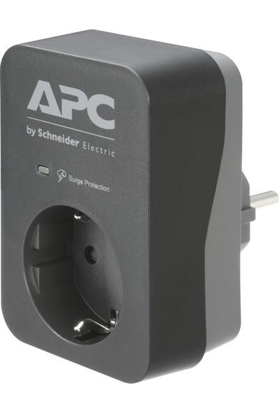 Schneider Electric APC Tekli Akım Korumalı Priz Gri PME1WB-GR