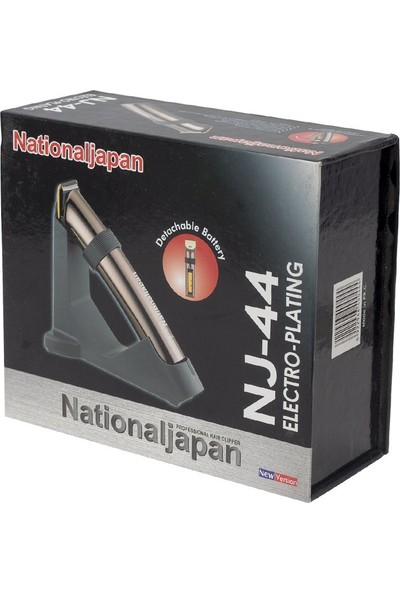 National Japan Nj-44 3 W Şarjlı ve Pilli Tıraş Makinesi