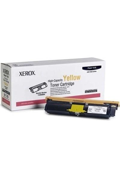 Xerox Phaser 6115 Sarı 4500 Sayfa Çapraz Renkli Toner