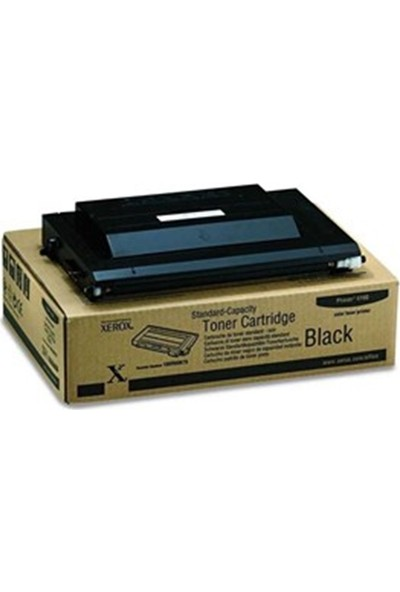Xerox Phaser 6100 Siyah 3500 Sayfa Çapraz Renkli Toner