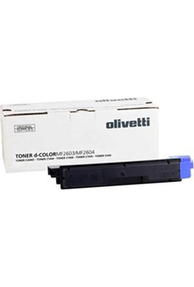 Olivetti D-Color MF-2604 Mavi 5000 Sayfa Çapraz Renkli Toner